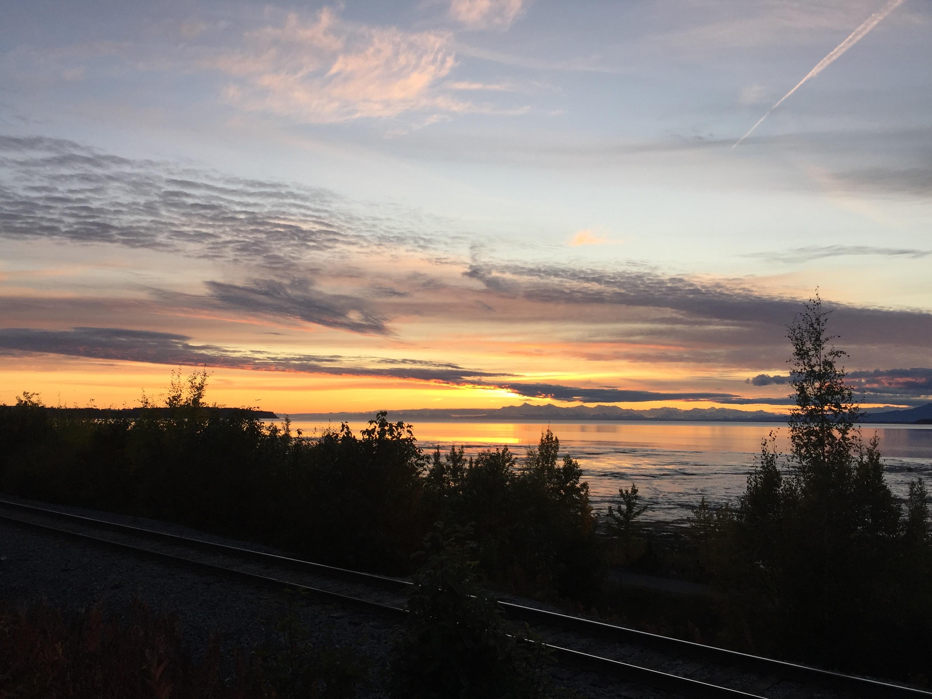 Cook Inlet September Sunset