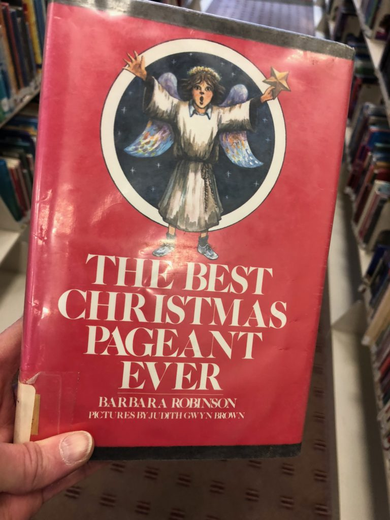 Barbara Robinson The Best Christmas Pageant Ever cover