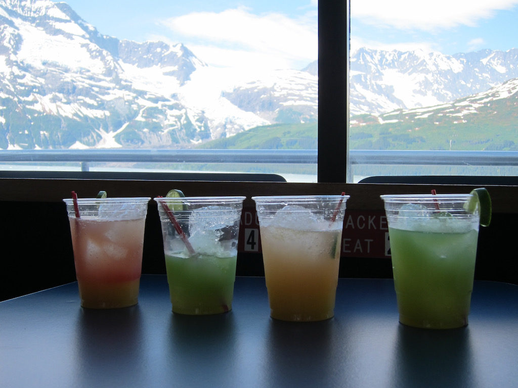 Major Marine Tours Glacier Ice Drinks