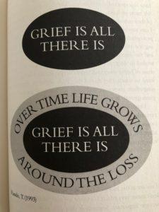 grief image from Grief Works - Julia Samuel