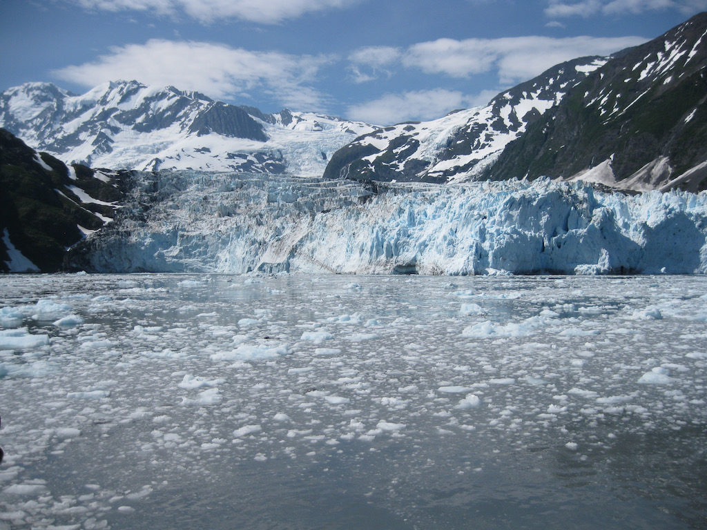 Major Marine Tours Calving Glacier