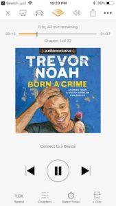 Born A Crime Audible Cover - Trevor Noah