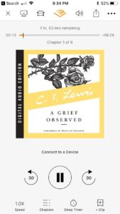A Grief Observed - Audible Cover