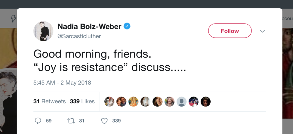 Joy is Resistance
