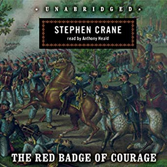 The Red Badge of Courage Audible Cover