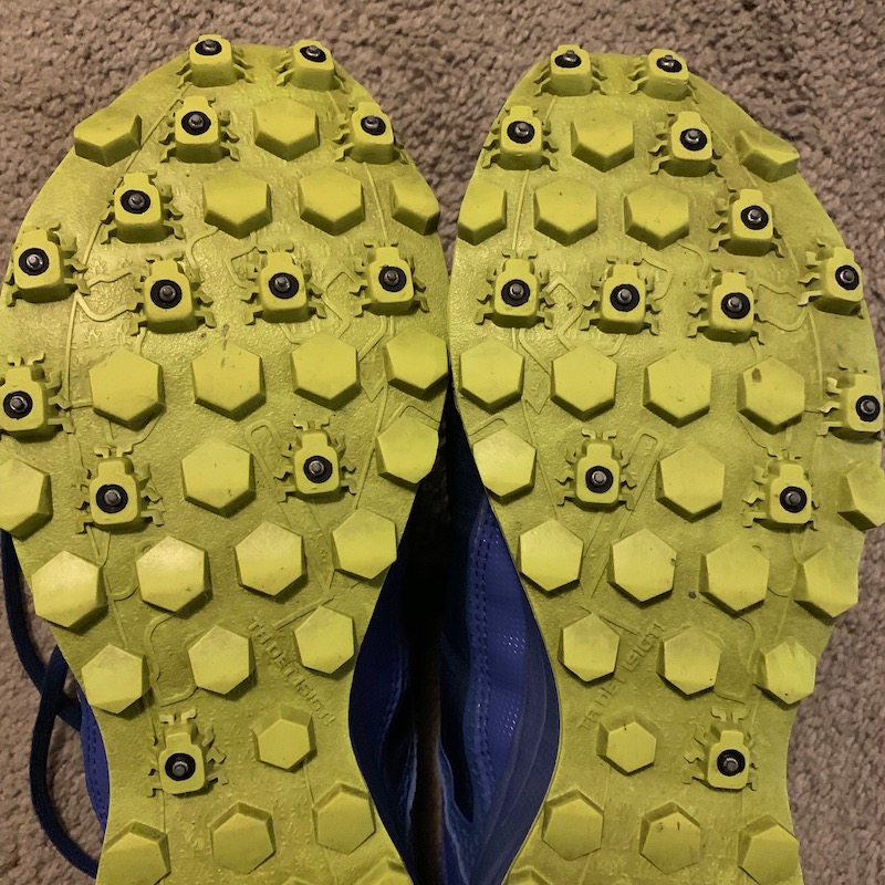 soles of icebug running shoes