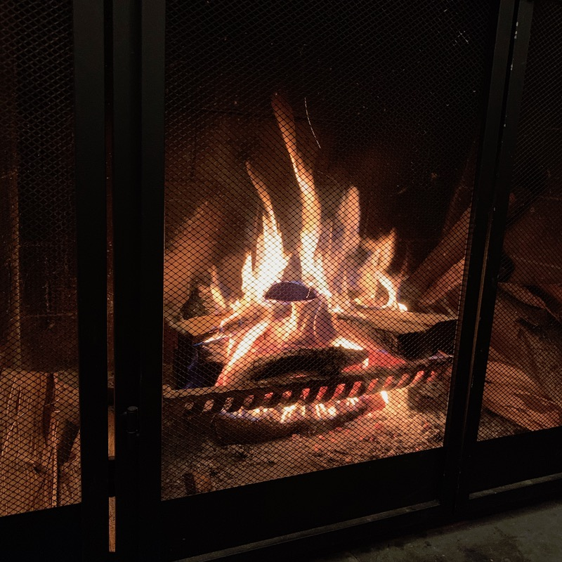 fireplace fire