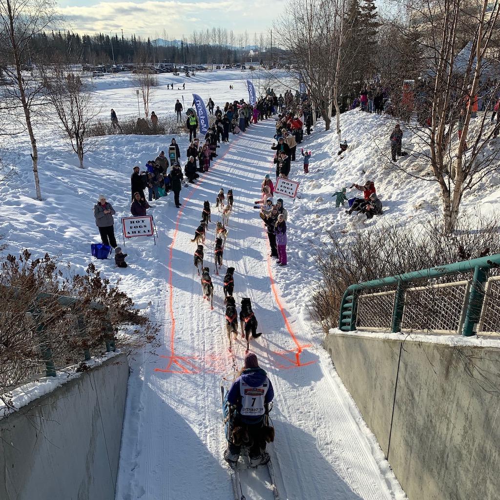Iditarod Ceremonial Start Native Hospital