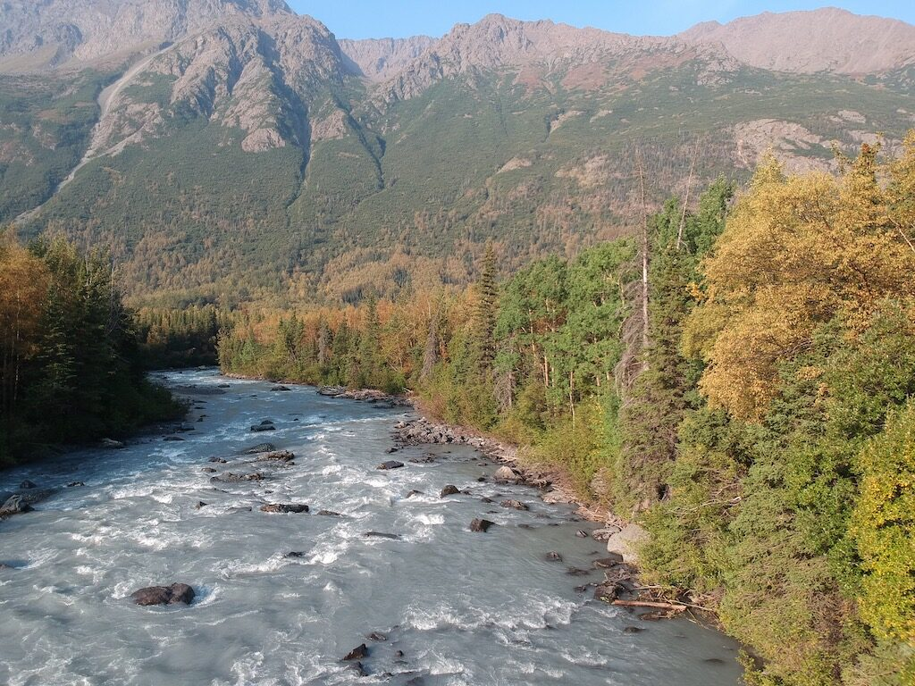 Eagle River from Rapids Yurt